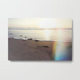 Heaven's Light Rays California Metal Print