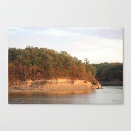 Wolf Creek Park Bluff Canvas Print