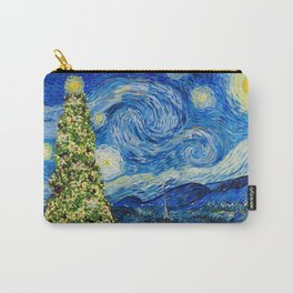 Van Gough Starry Night - Christmas Tree Carry-All Pouch