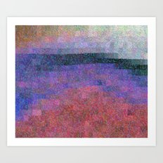 Lakeside Abstract Art Print