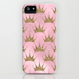 Royal Mermaid Crown iPhone Case