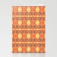 ashton irwin Stationery Cards featuring Ebola Tapestry-2 by Alhan Irwin by Microbioart