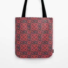 Patternsmith Triangles Red Tote Bag