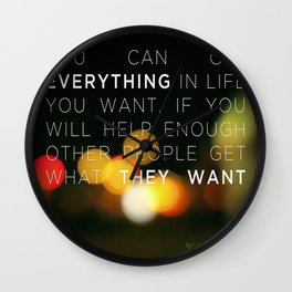 Want Everything? Wall Clock