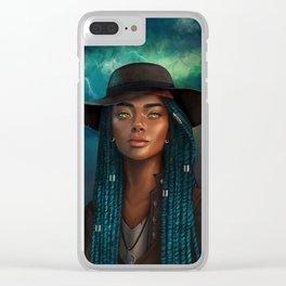 Storm Mistress Clear iPhone Case