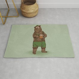 Traditional German Bear Rug