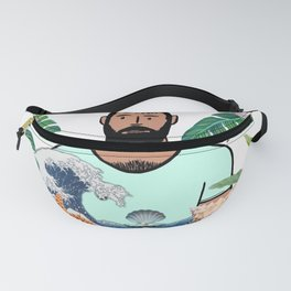 Beard Boy: The boy with the pearl Fanny Pack
