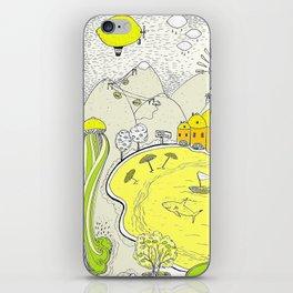 Lemon paradise iPhone Skin