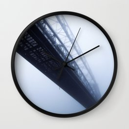 Foggy Lift #2 Wall Clock