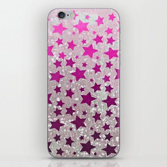 All Stars...Galaxy Pink iPhone & iPod Skin