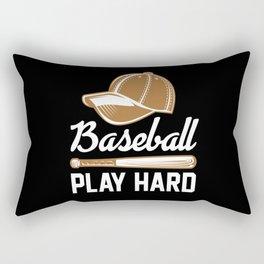Baseball Baseball Gift Baseball Player Rectangular Pillow