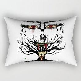 spooky tree Rectangular Pillow