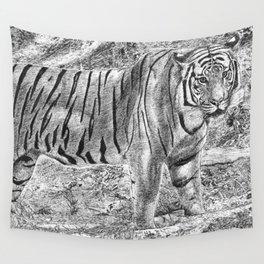 Malayan Tiger (Harimau) Wall Tapestry