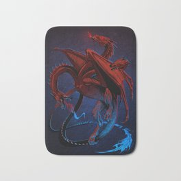 Frozen dragon Bath Mat