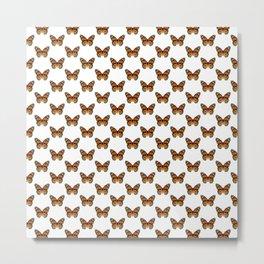 Monarch Butterfly Pattern Metal Print