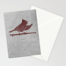 the bird is the f-word Stationery Cards