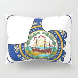 Thumbs Up New Hampshire Pillow Sham