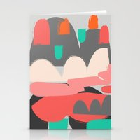 n7 Stationery Cards featuring Abstract n7 by HaloCalo
