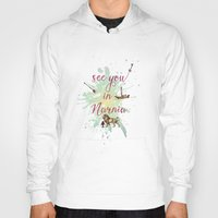 narnia Hoodies featuring See you in Narnia by Sybille Sterk