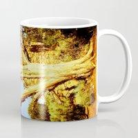 history Mugs featuring History by Masharra Mysti
