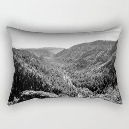 Black & White Arizona Rectangular Pillow