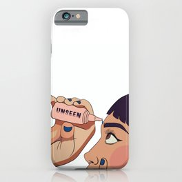Unseen eye drops iPhone Case