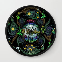 Everything She Dreamed Wall Clock