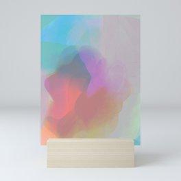 watercolor paint Mini Art Print