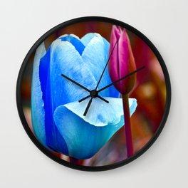 Majestic Tulips Wall Clock