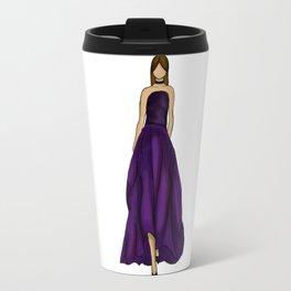Purple dress Travel Mug