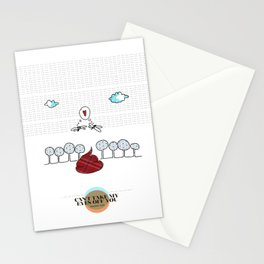 LOVE IN OUR OPINION - CAN'T TAKE MY EYES OFF YOU Stationery Cards