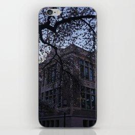 UW Cherry Blossoms iPhone Skin