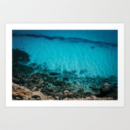 The Sea II Art Print