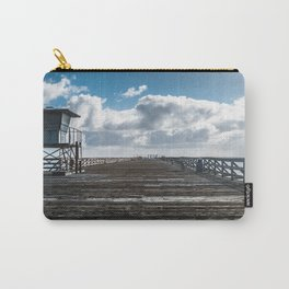 Cement Boat Pier, Seacliff Beach Carry-All Pouch