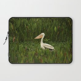 American White Pelican Laptop Sleeve