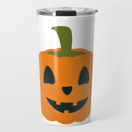Classic Halloween pumpkin Travel Mug