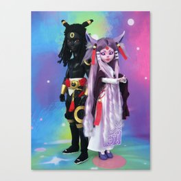 Umbre and Eifie Canvas Print