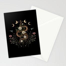 Serpent Spell Stationery Cards