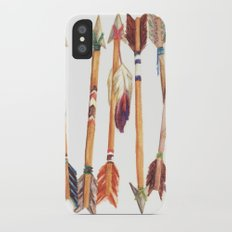Feathered Arrows iPhone X Slim Case
