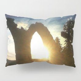 Fire at the tower Pillow Sham