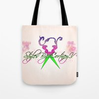 logo Tote Bags featuring logo by AB Art