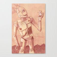 Roger Robot Canvas Print