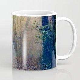 Wandering in a Foggy Woodland Coffee Mug