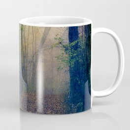 Wandering in a Foggy Woodland Coffee Mug