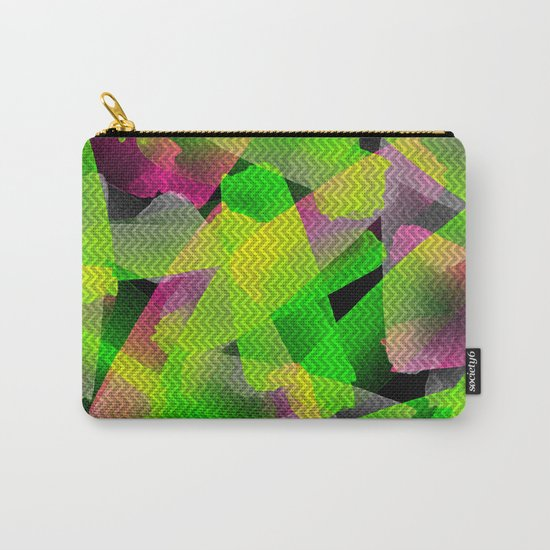 I Don't Do Normal - Abstract Print Carry-All Pouch