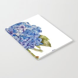 Hydrangea painting Notebook