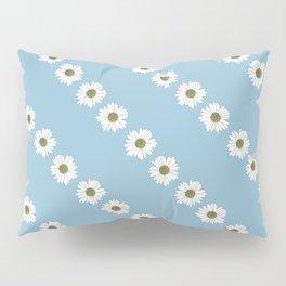 Daisy Chain Blue Pillow Sham