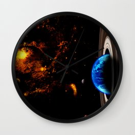 Pritty Planet Wall Clock