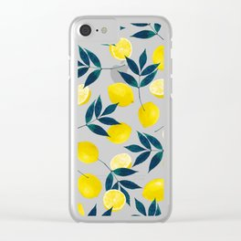 Lemony Goodness Clear iPhone Case