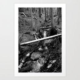 Into a Fathomless Chaos Art Print